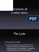 Story Structure for journalists
