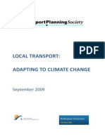 Local Transport Adapting to Climate Change Briefing