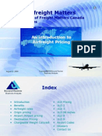 Airfreight  Pricing
