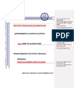 Transformador Tipo Poste Trifasico