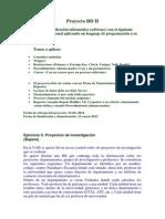 Proyecto BD II Bajana