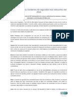 LOS 12 INCIDENTES DE SEGURIDAD MÁS RELEVANTES DEL 2014