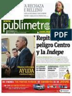 Diario Publimetro Monterrey 07 ENE