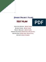 Test Plan Template .doc