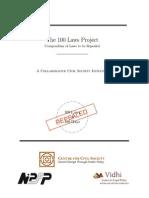 100 Laws