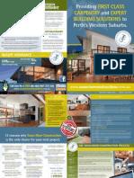 Perth Granny Flat Specialists Brochure