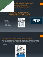 Presentacion_Afiladora de Maquinas Herramientas de Corte