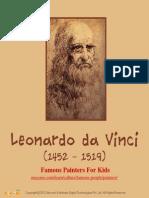 Leonardo da Vinci - Famous Painters For Kids  – Mocomi.com