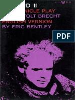 Brecht, Bertolt - Edward II (Grove, 1966)