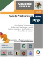 Diagnóstico y Tratamiento Del Síndrome de Falla Medular - Anemia Aplásica Aruirida en Pediatría Tercer Nivel