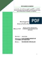 Module 27 Installation Réparation Commande Électronique de Moteurs -TSESA - OfPPT-par ( Www.cours-electromecanique.com)