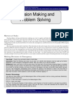 IGP CSAT Paper 2 Decision Making Problem Solving Part 1