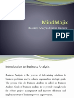 Business Analysis Online Training