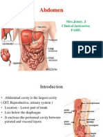 Abdominal physiology