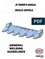 General Welding Guidelines