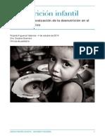 Monografía desnutrición infantil