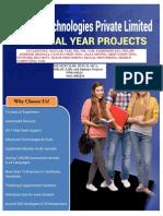 IEEE 2014-2015 JAVA TITLES