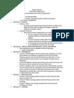 ECO Constitutions