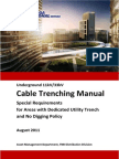 Underground Cable Trenching
