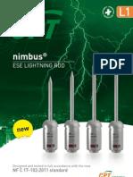 Cpt Cirprotec l1 Lightning Rod Ese Nimbus Nfc17102 2011