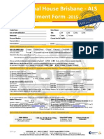 IH Brisbane ALS Application Form 2015 2