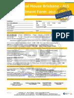 IH Brisbane ALS Application Form 2015 2