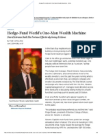 Hedge-Fund World's One-Man Wealth Machine - WSJ