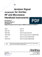 Digital Television Signal Analyzer Measurement Guide