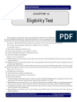 IGP CSAT Paper 2 General Mental Ability Eligibility Test