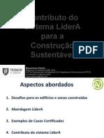 Apresentação sumário do sistema LiderA (2014)