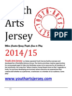 Youth Arts Jersey Information Leaflet 2015