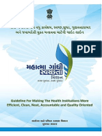 Mahatma Gandhi Swachhta Mission - Guideline