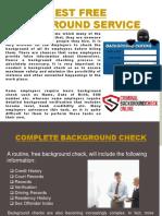 Best Free Background Service