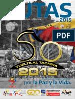 Revista Vuelta Al Tachira 2015 Guia Tecnica #ciclismo #15VT