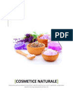 Cosmetice Naturale