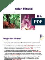Kuliah 1a Mineral