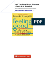 Feeling Good the New Mood Therapy Revised and Updated 609896