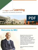 DISCOVER THE MANIPAL ADVANTAGE - MIU, Malaysia