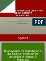 UNHCR MANDATE