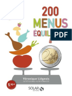 200 Menus Pas Chers