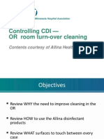 OR3_Controlling CDI — Operating Room Turn-over Cleaning Training