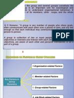 Management - Group Dynamics Lecture notes