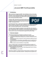 2014 07 16 Policy Document Gmp Feed Responsibility Final Version