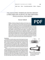 Palaeolithic Whistles or Figurines?  a Preliminary Survey of Pre-historic Phalangeal Figurines