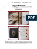 Supernatural Pregnancies [Common Features and New Ideas Concerning Upper Paleolithic Feminine Imagery]]
