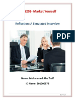 assignment two simulated job interview