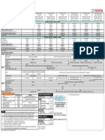 Hilux 2015 Pricelist
