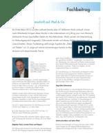 """Fachbeitrag """"Elektronische Unterschrift auf iPad & Co."""""""