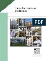 California Inclusionary Housing Reader