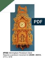 Birmingham Pendulum Clock